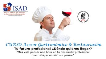 Trabaja como Asesor gastronómico