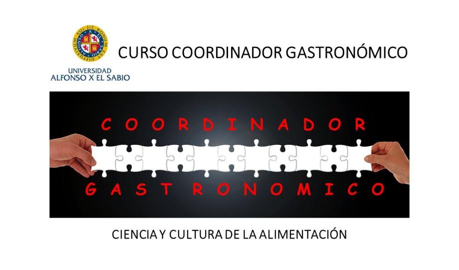 Coordinador Gastronómico