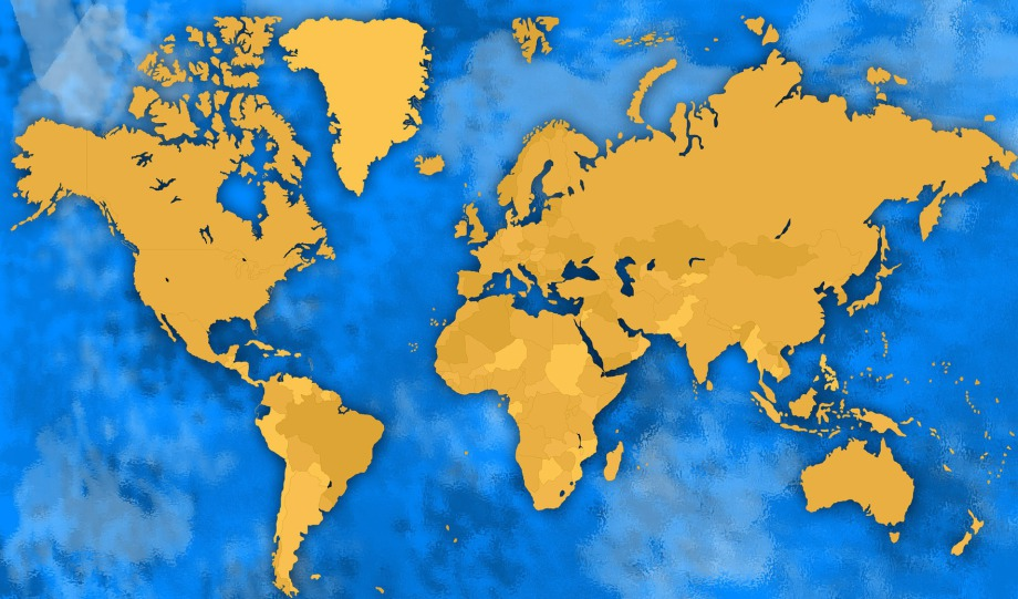 Mapa Isad